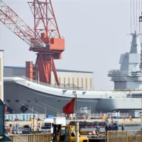 <中国報道&日本報道>中国、国産空母が進水へ 海洋進出へ建造加速 20年にも就役