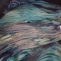 2017藍の生葉染め2