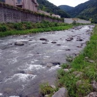 狩野川、超渇水解消!!