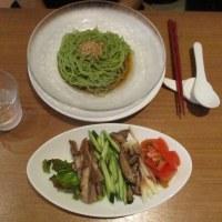 焼豚の冷麺