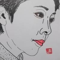 """似顔絵シリーズ 第536回 """" ダンダ リン その③"""""""