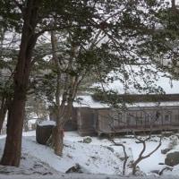 """一転しての""""雪景色""""...香雪園"""