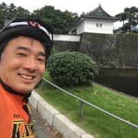 六本木から初自転車通勤、和来路