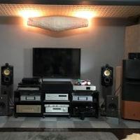 オーディオ機器のセッティング変更