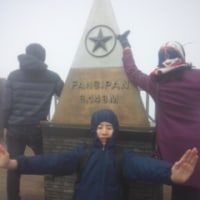 ここがインドシナのサミット(3,143m)…
