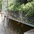 フェンスの向こうに湯谷川(川をたどれば湯谷川編)