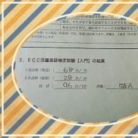 ECC英語検定の結果