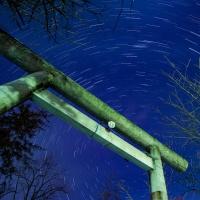 岩見沢神社へ星を撮りにでかけたら失敗しました