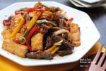 牛肉と豆腐のコリアンバーベキュー