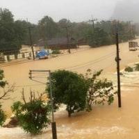 タイ南部の洪水で タイの柳川中学校、どうしたかな?