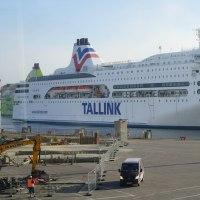 バルト三国 タリン港へ