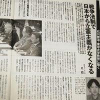 石川健治教授(憲法学)『週刊金曜日』インタビュー記事