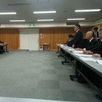 県交運要望に関する県との懇談会に出席しました。