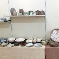 級友の陶芸展