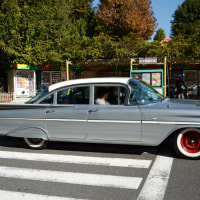 Chevrolet Bel Air 1959�����Ƥ˿��Ӥ����̤Υơ���ե���ȤϤҤ�̣��ä�1959ǯ�����ܥ졼