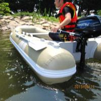 2馬力ゴムボート