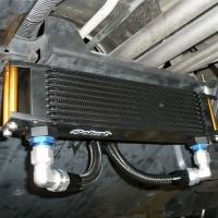 サンバー トラック TT2 オイルクーラー取り付け