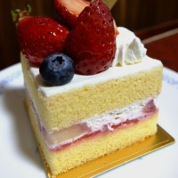 神戸ルージュのショートケーキ