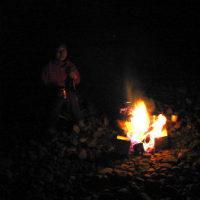 星と焚火とカヌー(オータム・ミーティング )