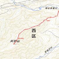 阿部山(北東尾根)のGPSトラック
