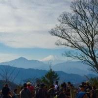 高尾山から小仏城山
