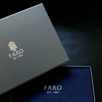 FARO CAVIRO CROCO card case
