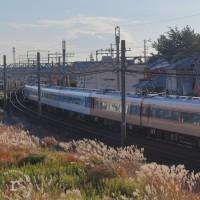 """近鉄15200系  団体専用列車 """" あおぞらⅡ """" に遭遇した奇跡!"""