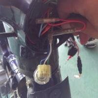 カブ スマホホルダー USB電源