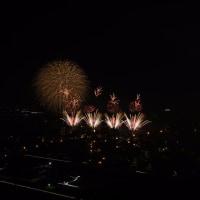 編集中:速報・原鶴温泉川開き花火大会から JPEG画像まず3枚