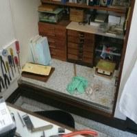 道具、部品収納変更中です。
