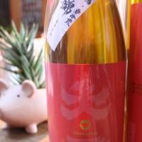 大盃 純米吟醸55 赤ラベル 美山錦 脱気処理生酒入荷。