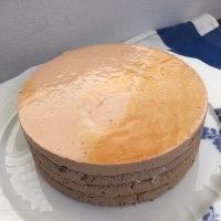 「シューブリム」ミルクチョコとカフェクレームの2層仕立て