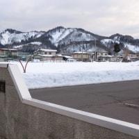 みちのくの冬2017 : 分厚い雪のジュータン約70cm