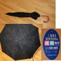 やっと買った日傘