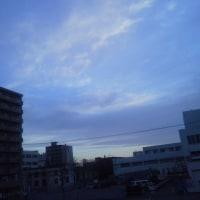 2017/4/26 午前5時前札幌の空模様  (訂正しました)