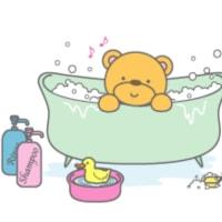 風呂に入ります