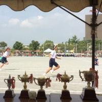 小学校の運動会、中学校の体育祭に招かれる