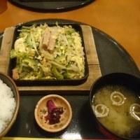 琉球ダイニング どなんちのゴーヤチャンプル定食 ~フリードリンク付き~