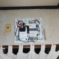 分電盤の取替、IH専用電源の増設