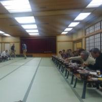 平成29年中野町内会組長役員慰労会。