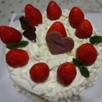 卒園お祝いケーキ