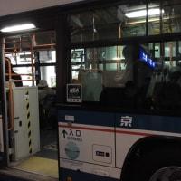 次はバスを乗り換え大学病院です。