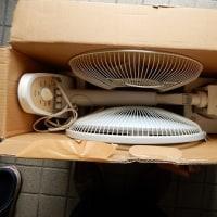 扇風機とファンヒーターの入れ替え
