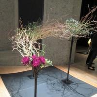 草月流の花展