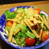 白菜とほうれん草の和風サラダ