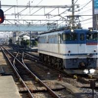 EF65-2080号機回送@豊田駅