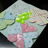 バレンタインデー♪生徒さんからいただきました。