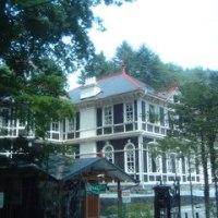夏休みに軽井沢の三笠ホテル見学
