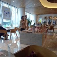 SUM CAFEで堤さん?!