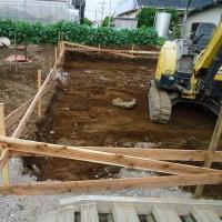 新築工事始まりました!